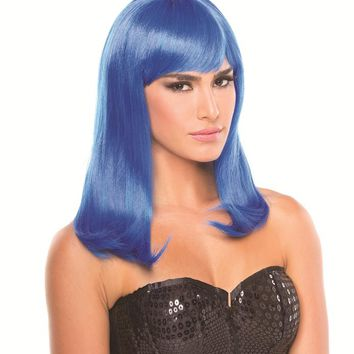 Bewicked Female Solid Color Hollywood Wig BW094DB