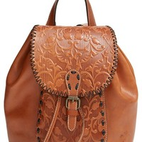 Women's Patricia Nash 'Savona' Leather Backpack