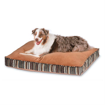Antimicrobial Pet Bed with Zippered Removable Cover - Fits Medium size Dog