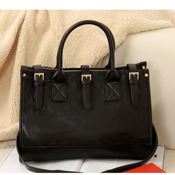 Fashion Vintage One Shoulder Bags Tote Bag [6582162183]