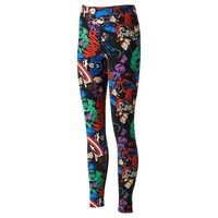 Freeze Marvel Comics Allover Character Leggings
