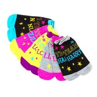 One Direction Team 1D Socks Set of 5   Claire's