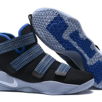 Nike Lebron Soldier 11 Steel - Beauty Ticks