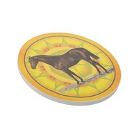 Brown Horse Drink Coaster