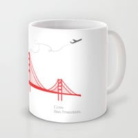 San Francisco.  Mug by Irmak Berktas