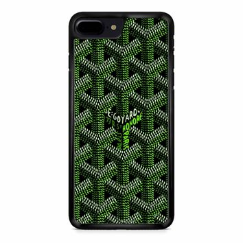 Goyard Green iPhone 8 Plus Case