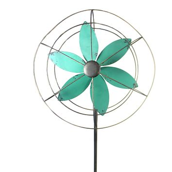Home & Garden Metal Windmill Outdoor Decor