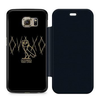 Ovoxo October Very Own Leather Wallet Flip Case Samsung Galaxy S6