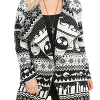 The Nightmare Before Christmas Fair Isle Cardigan Plus Size