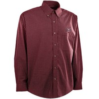 Antigua Missouri State University Bears Esteem Long Sleeve Button-Down Shirt - Maroon