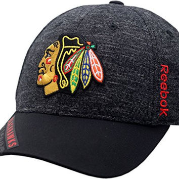Chicago Blackhawks Playoff Hat Flex Fit 2016 Structured 11569 (L/XL)