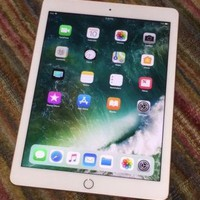 Apple iPad Pro 128GB Wi-Fi 9.7in Rose Gold White 128 GB A1673 Great Condition!