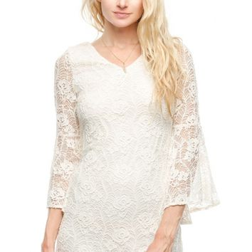 Boho & Beautiful Dress - Cream