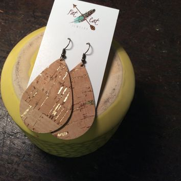 Fat Cat 1176 Leather Earrings