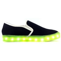 ILLUMINATE BLACK LIGHT-UP SNEAKERS
