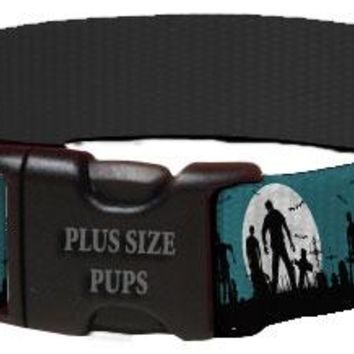Halloween Dog Collar - Walking Zombies
