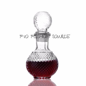 Crystal Decanter Liquor Carafe /Water /Alcohol Decanter 8Fl oz