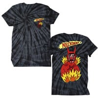 Neck Deep Men's  Shooting Eye Tie Dye T-shirt Multi