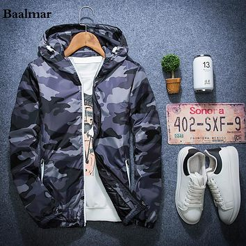 Fashion Camouflage Parkas Men Military Waterproof Winter Coat Men Thickening Cotton-padded Winter Jacket Men Hooded Coats