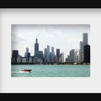 Chicago art Chicago skyline Sears Tower Chicago photography art architecture art print lake Michigan urban art 4x6 5x7 6x8 8x10 10x15