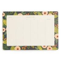 Rifle Paper Co. 'Jardin' Weekly Desk Pad - White