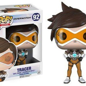 Funko Pop Games: Overwatch - Tracer Vinyl Figure