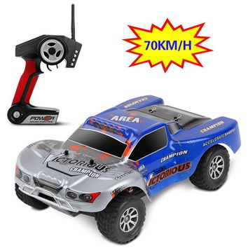 Newest 1:18 RC Car 4WD 4CH High Speed Rock Rover Toys Remote Control SUV 70KM/h Off Road Racing Car 2.4GHz Buggy for Boys