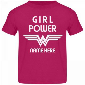 Custom Wonder Girl Power
