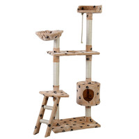 "60"" Cat Tree Tower Condo Scratcher"