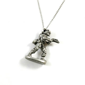 VINTAGE Boba Fett Necklace