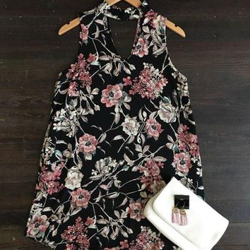 Small Town Girl Floral Print Dress