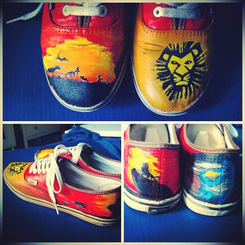 The Lion King Vans