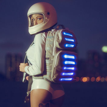 Bag To The Future Light-Up LED Trooper | Sprayground Backpacks, Bags, and Accessories