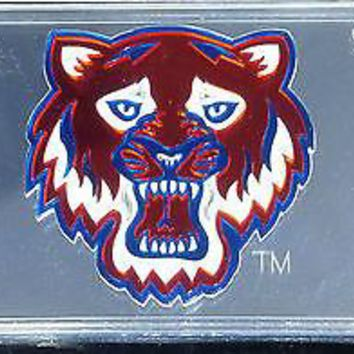 Sam Houston State Bearkats SILVER Deluxe Laser Cut License Plate Tag University