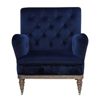 Bogart Accent Chair NAVY BLUE