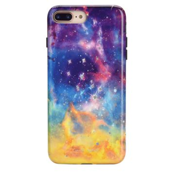 Midnight Galaxy Phone Case by Carli Bybel