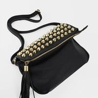 stud trim purse $34.50 in BLACK - Bags | GoJane.com