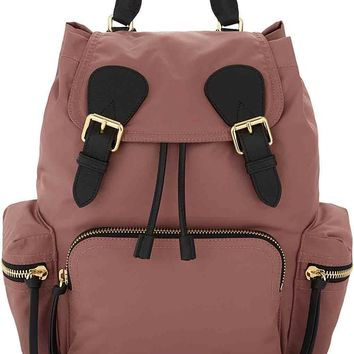 Mauve Pink Rucksack by Burberry
