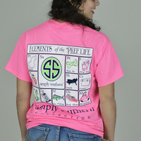 Elements Of The Prep Life Simply Southern Tee
