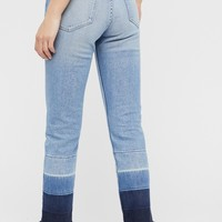 Free People Shelter Straight Leg Crop