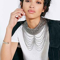 City Scene Chain Necklace - Silver One