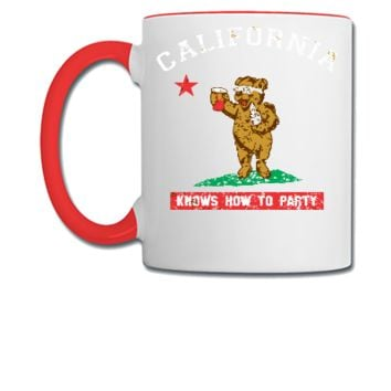 California Know's How To Party  - Coffee/Tea Mug
