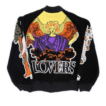 KTZ / LOVERS BOMBER JACKET / BLACK