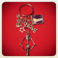Norman Reedus/Daryl Dixon Keyring  Inspired by by MarsMeetTheMoon