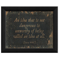 An Idea That Is Dangerous... by Artwork Enclosed at Gilt