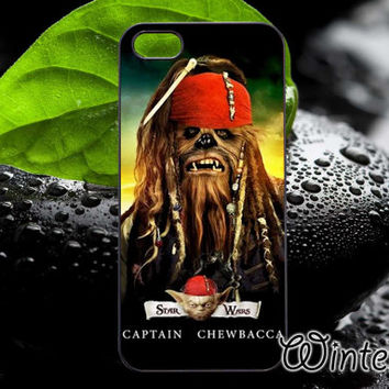 Captain Chewbacca,Accsessories,Case,Cell Phone,iPhone 4/4S,iPhone 5/5S/5C,Samsung Galaxy S3,Samsung Galaxy S4,Rubber-30/12/D-22