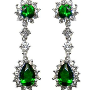 e8709caff1956 Best Emerald Chandelier Earrings Products on Wanelo