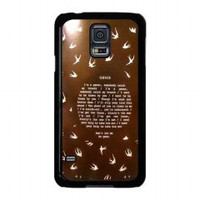 Twenty One Pilots Goner for samsung galaxy s5 case