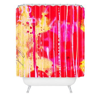 Sophia Buddenhagen The Spectrum Shower Curtain