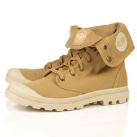 Mustard Palladium 'Baggy' Boots - Boots - Shoes and Accessories - TOPMAN